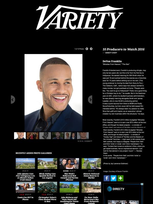 Variety - October 19, 2016