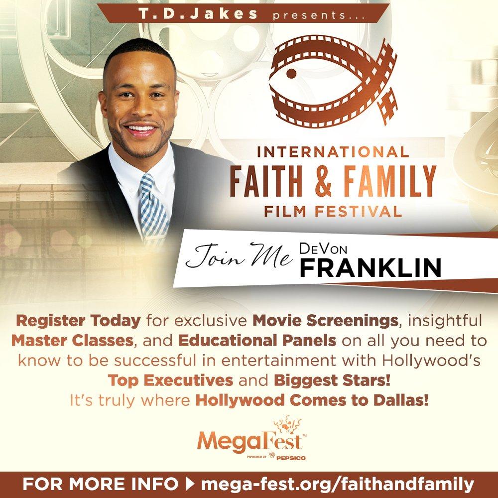MegaFest International Faith & Family Film Festival – Dallas, TX (Keynote & Panel) @ Convention Center attached to Omni Dallas Hotel