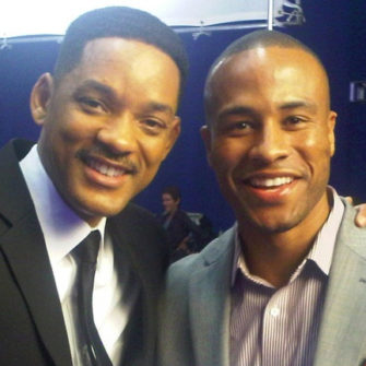 DeVon Franklin and Will Smith