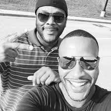 DeVon Franklin and Tyler Perry