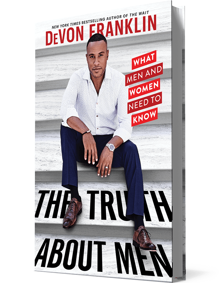 The Truth Abput Men Book by DeVon Franklin