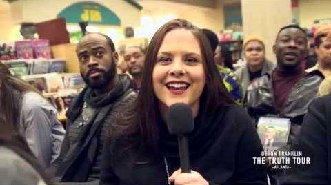 [VIDEO] Barnes & Noble Interviews / Truth Tour Atlanta