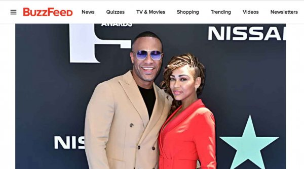 BuzzFeed: Pics Of Couples At The BET Awards
