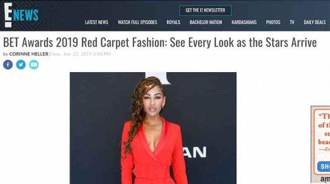 ENEWS: BET Awards 2019 Red Carpet Fashion