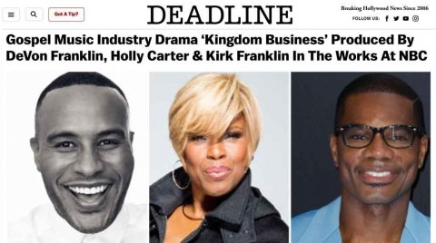 Kingdom Business in the works at NBC