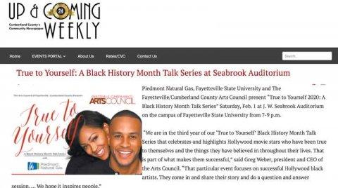 Black History Month Talk Series