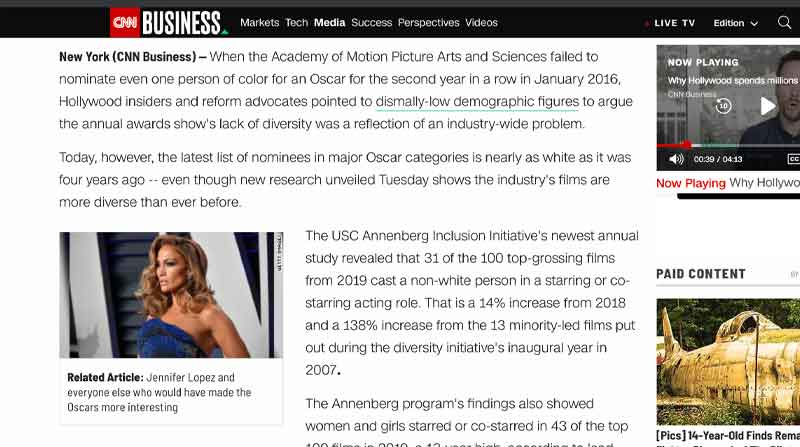 Hollywood Is More Diverse Than Ever. so Why Are the Oscars so White?