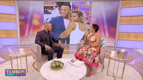 How DeVon Franklin and Meagan Good celebrate Valentines Day