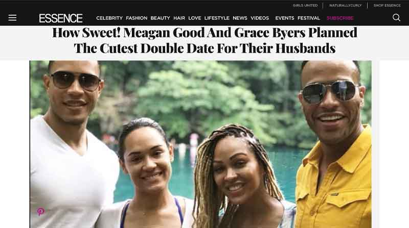Meagan Good and Grace Byers Planned the Cutest Double Date for their Husbands