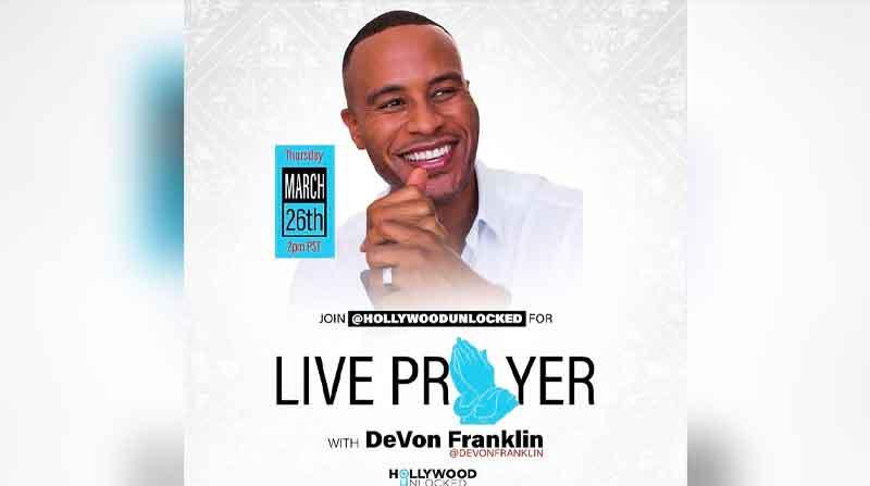 Live Prayer With Hollywood Unlocked