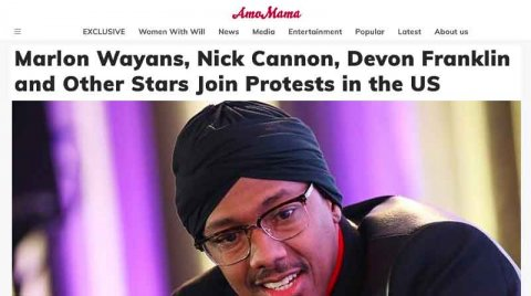 Marlon Wayans, Nick Cannon, Devon Franklin and Other Stars Join Protests in the Us