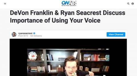 On Air With Ryan Seacrest: Use Your Voice