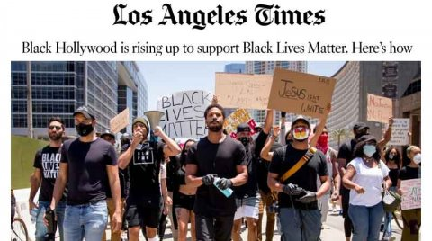 Black Hollywood is rising up to support Black Lives Matter