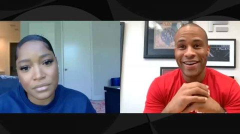 Devon Franklin Gives Keke Palmer a Spiritual Fill Up