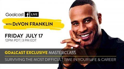 Goalcast Exclusive Masterclass with DeVon Franklin