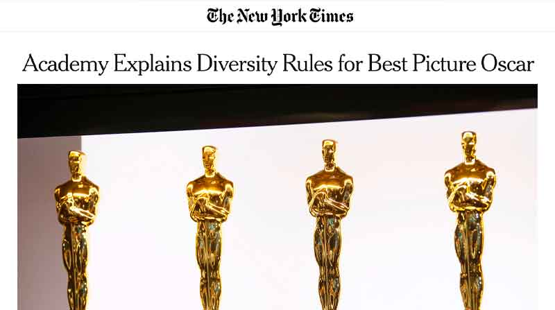 Academy Explains Diversity Rules for Best Picture Oscar