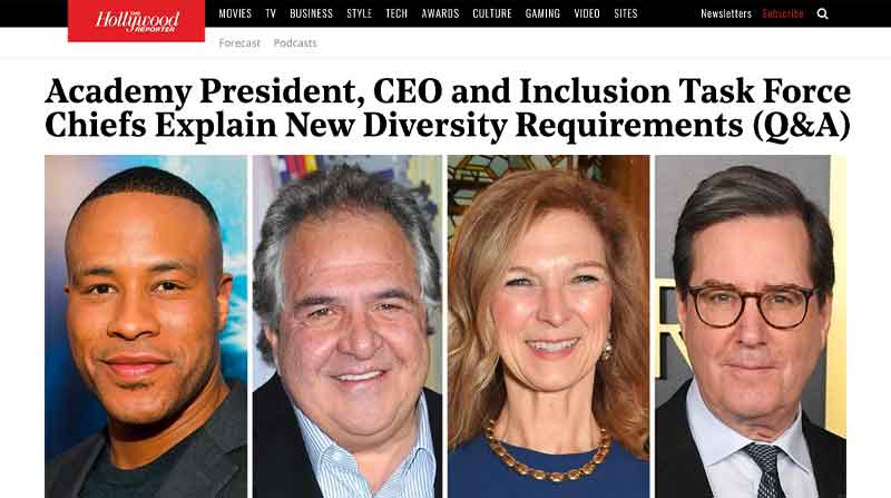 Academy President, CEO and Inclusion Task Force Chiefs Explain New Diversity Requirements (Q&A)