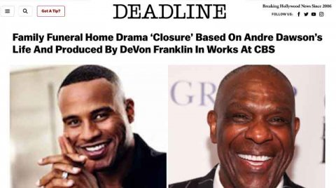 Family Funeral Home Drama 'Closure' Based On Andre Dawson's Life And Produced By DeVon Franklin In Works At CBS