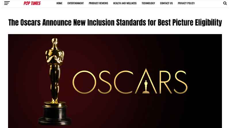 The Oscars Announce New Inclusion Standards for Best Picture Eligibility