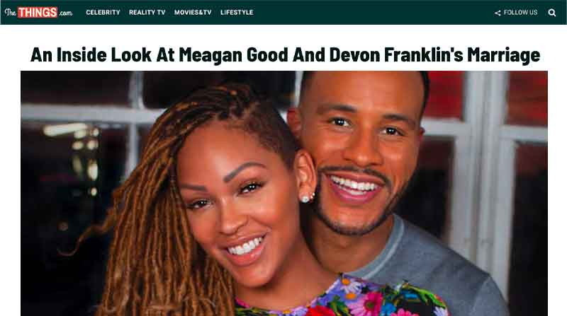 An Inside Look At Meagan Good And Devon Franklin's Marriage