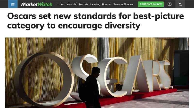 Oscars set new standards for best-picture category to encourage diversity