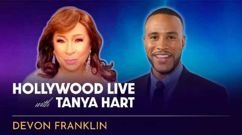 [VIDEO] DeVon Franklin Hollywood Live with Tanya Hart| AURN