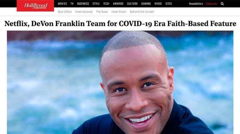 https://www.hollywoodreporter.com/news/netflix-devon-franklin-team-for-covid-19-era-faith-based-feature
