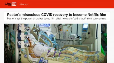 Pastor's miraculous COVID recovery to become Netflix film